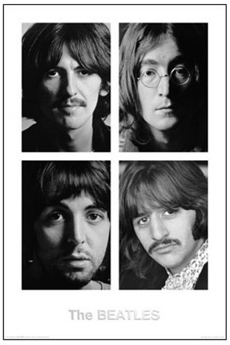 Beatles White Album 24 x 36 Poster