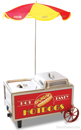 Small Hot Dog Cart