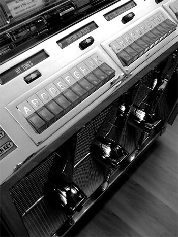 Juke Box - iPhone App Camera Bag Photo