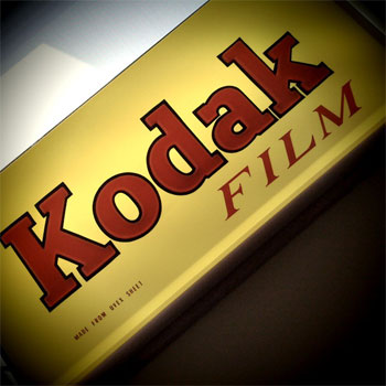 Kodak Film Light Up Sign-iPhone App Camera Bag Photo