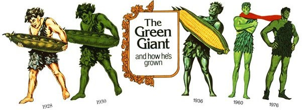 Timeline of the Green Giant