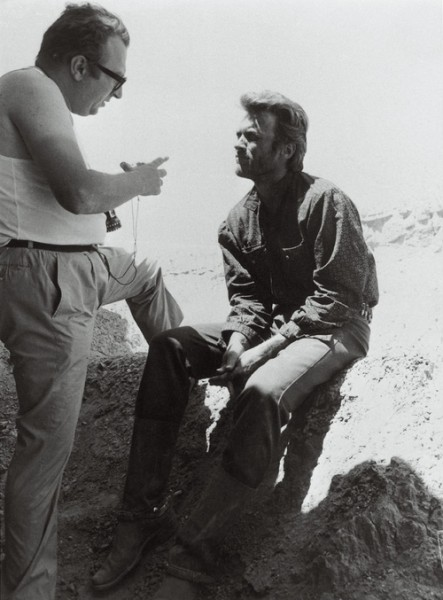 Sergio Leone and Clint Eastwood