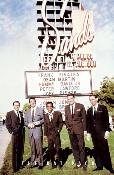 The Rat Pack Sands 24 x 36 Poster