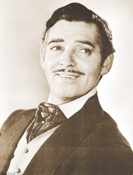 Clark Gable Head Shot