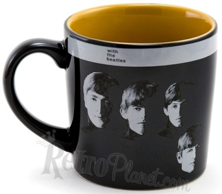 With The Beatles Album Cover 12 Oz. Mug