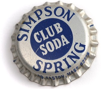 Simpson Spring Soda Bottle Cap
