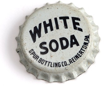 White Soda Bottle Cap