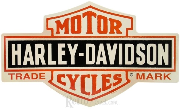 Harley-Davidson ® Bar and Shield Tin Sign