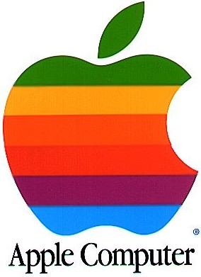 Apple's Rainbow Logo (1976-1998)
