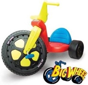 Big Wheel Ride-On Tricycle