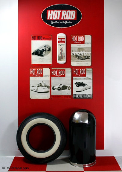 Hot Rod Magazine Decor