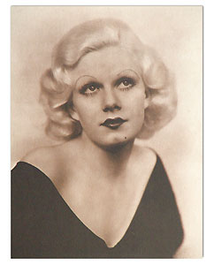 Jean Harlow Hollywood Movie Star