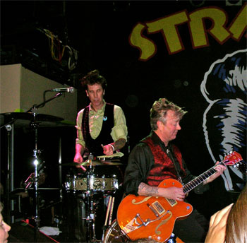 Stray Cats Fine Line Cafe