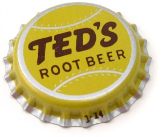 Moxie Ted's Root Beer Soda Bottlecap