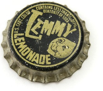 Lemmy Lemonade Soda Pop Bottlecap