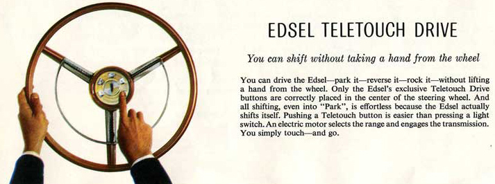 Edsel Steering Wheel
