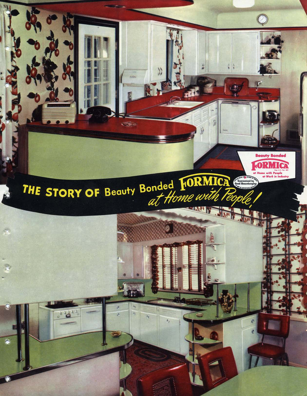 Formica Story 1951 Brochure Cover