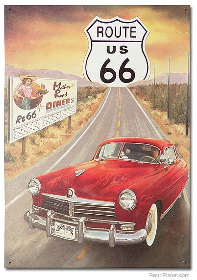 Route 66 Diner Sign