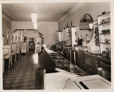 Ice Cream Parlor Counter
