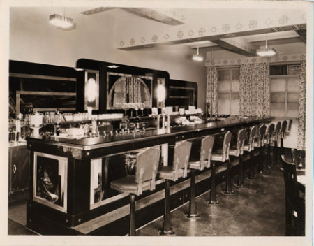 Art Deco Soda Fountain