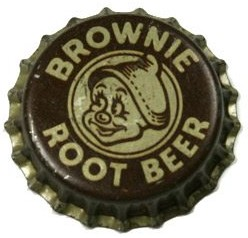 Brownie Root Beer Bottlecap