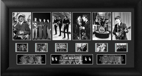 The Beatles Deluxe Film Cell