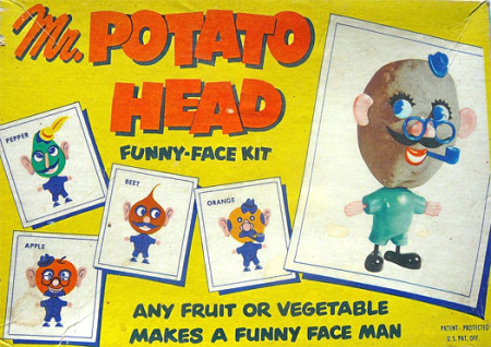 Early Mr. Potato Head Box