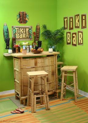 Tiki Bar Decorating Ideas.Retro Decorating Ideas Tiki Design Revival