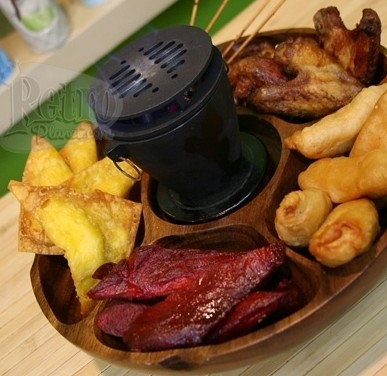 Image of Pu Pu Platter with Hibachi