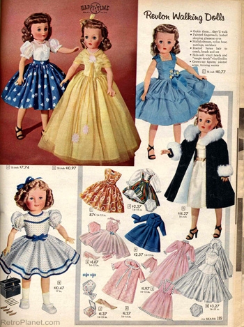 Shirley Temple and Revlon Walking Dolls