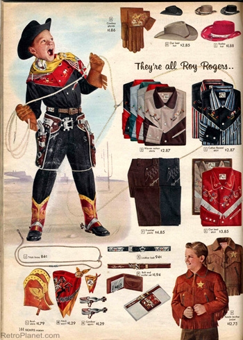 Roy Rogers Cowboy Outfits