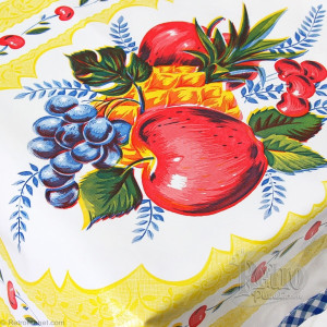 Retro Fruit Tablecloth