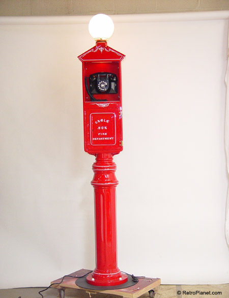Restored Vintage Call Box