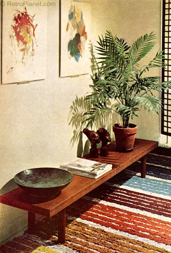 1960s Ethnic Decor