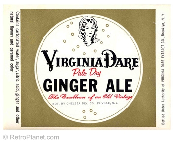 Virginia Dare Ginger Ale