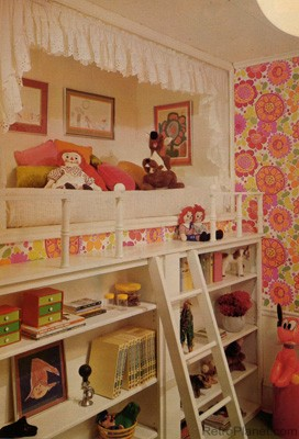 Psychedelic 1970s Child's Room