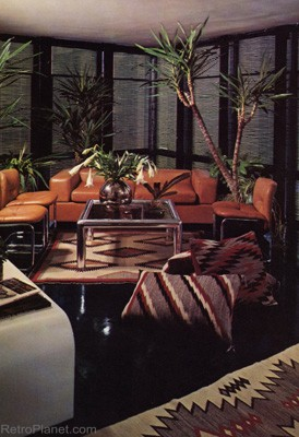 1970s living room furniture 1970s decorating style colors patterns amp design of the 70s 14775