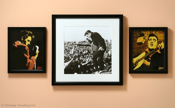 Elvis Presley Retro Wall Decor