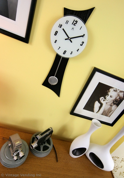 Marilyn Print and Clock