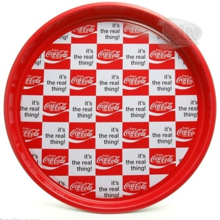 Coca-Coal Real Thing Serving Tray
