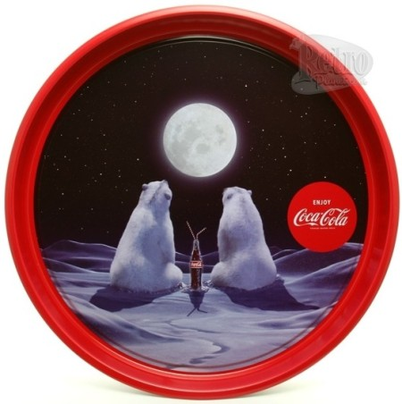 Coca-Cola Polar Bear Lovers Tray