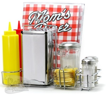 Mom's Diner Tableware Serving Set