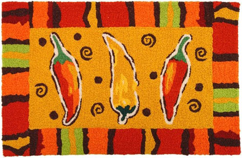Fiesta Chilis Accent Rug