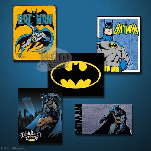 Collage of Batman Signs