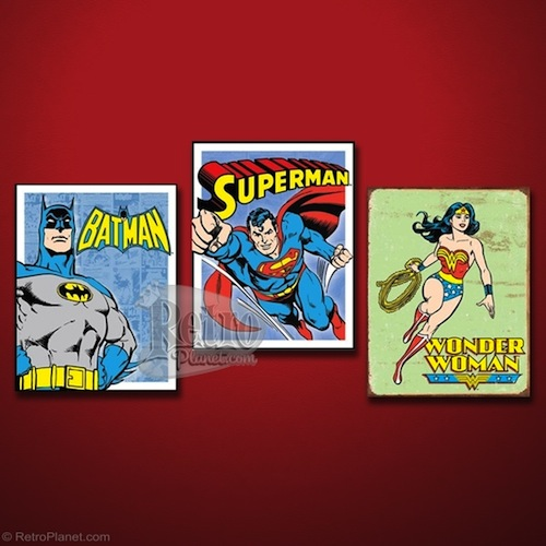 DC Comics Sign Set