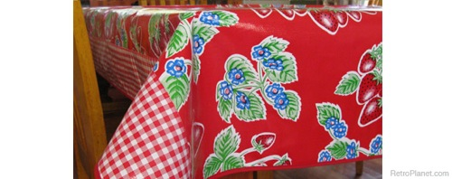 Retro Table Linens For The Vintage Kitchen