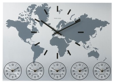 Time Around the World Clock