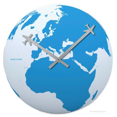 Travel Around the World Clock