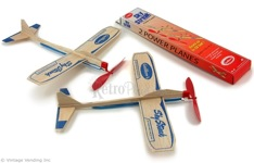 Balsa Wood Wind Up Airplanes