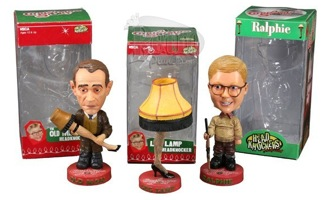 A Christmas Story Bobbleheads Old Man Ralphie Leg Lamp